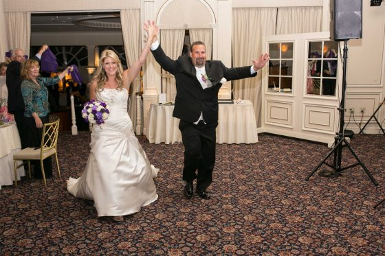 Bride & Groom Introductions at the Fountainhead - Dance to the Music Entertainment