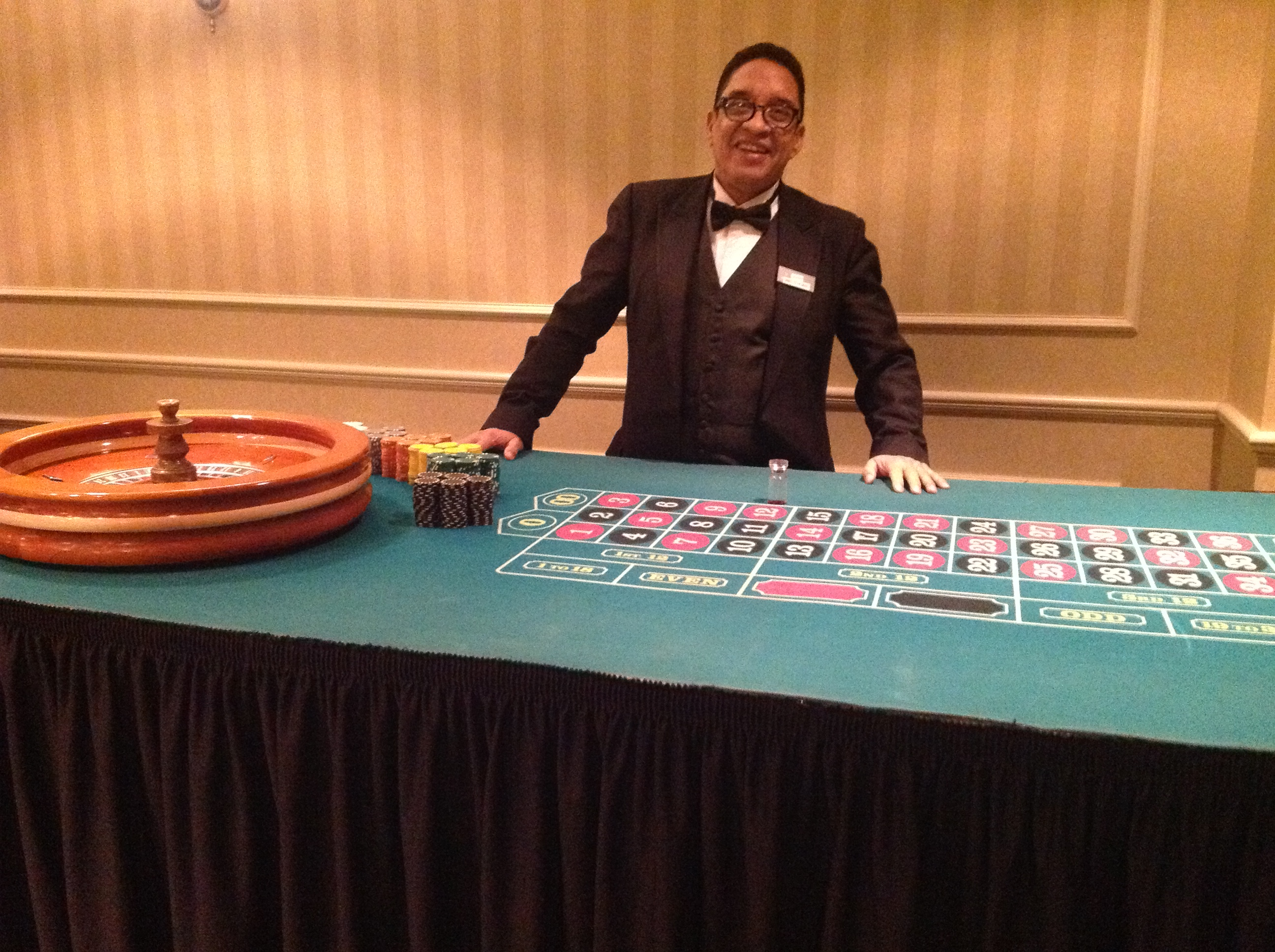 casino games at wedding