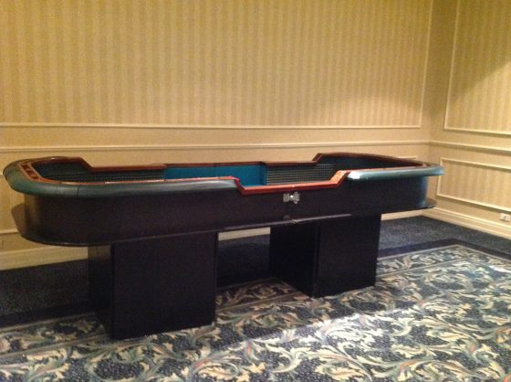 Craps Table - Dance to the Music Entertainment